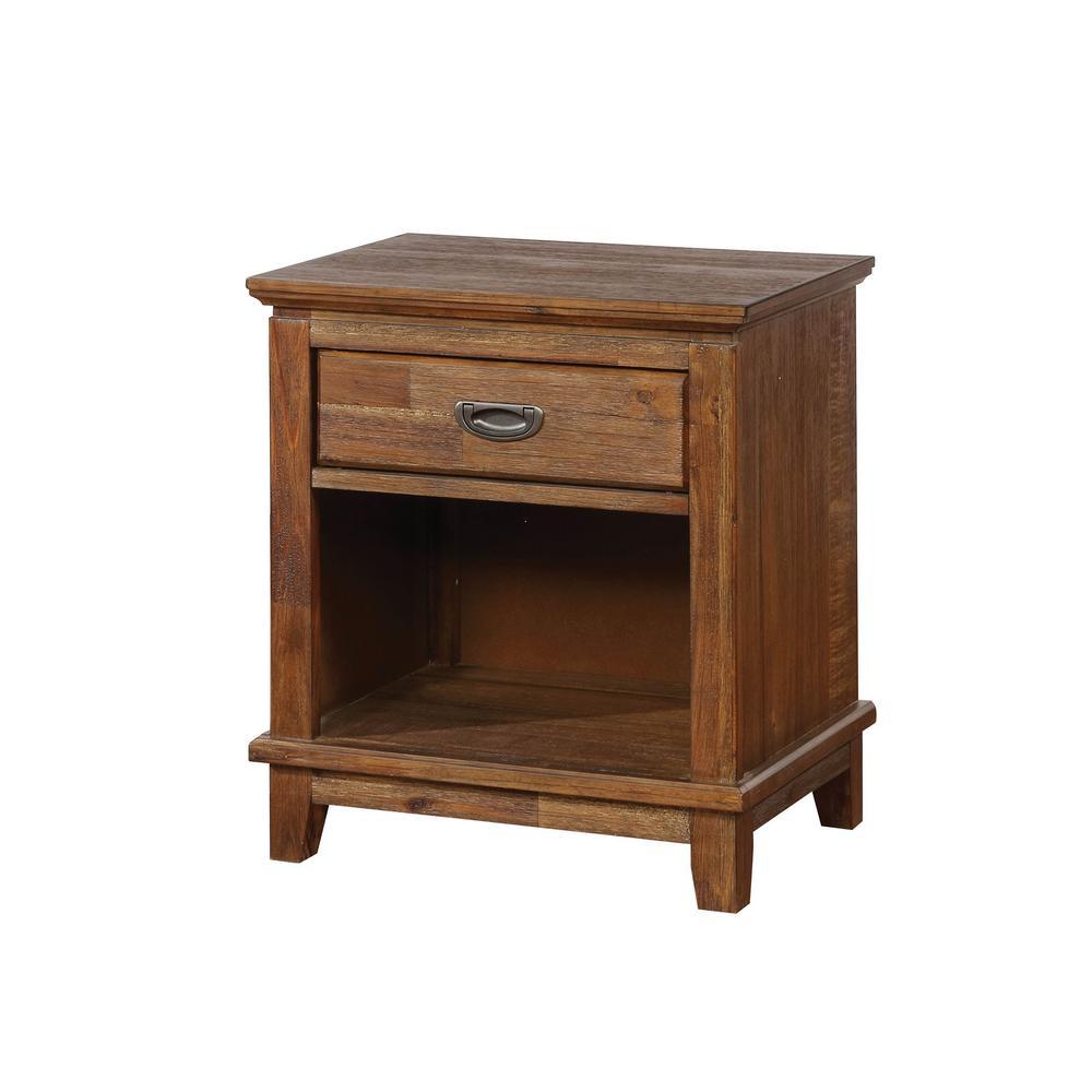 Dark Oak - Bedroom Furniture - Furniture - The Home Depot