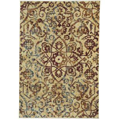 Anatolia-Vintage Star Ruby 7 ft. 10 in. x 11 ft. Area Rug