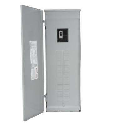 PL Series 200 Amp 42-Space 60-Circuit 3-Phase Main Breaker Outdoor Load Center Copper Bus