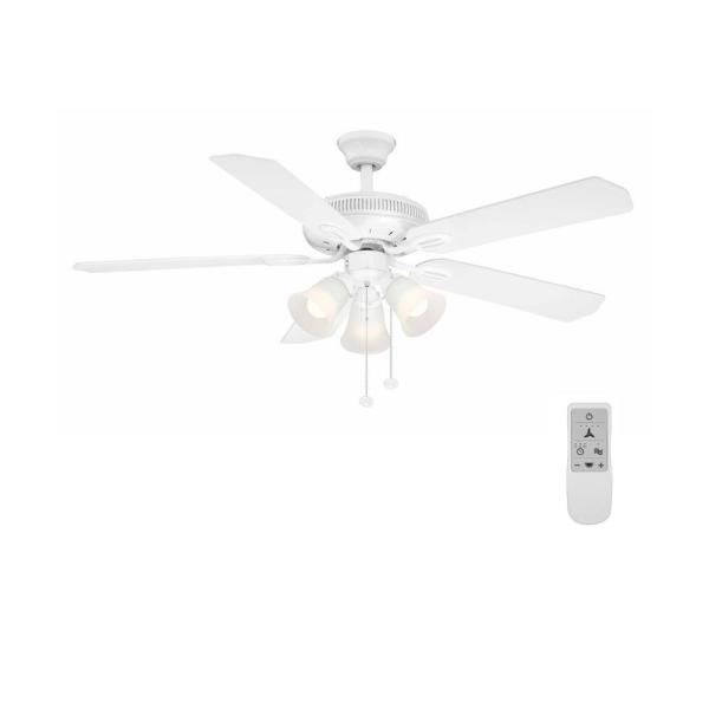 Hampton Bay Glendale II 52 in LED Indoor ORB Ceiling Fan AG524P-ORB