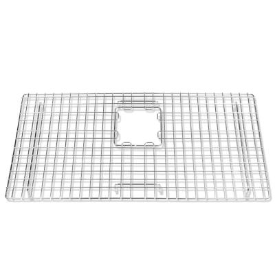 SinkSense Alder 27.5 in. x 14 in. Bottom Grid for Kitchen Sinks in Stainless Steel
