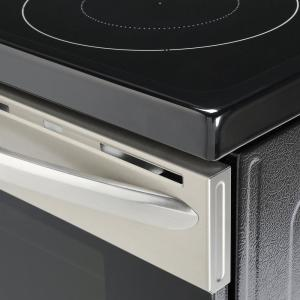 Frigidaire Gallery 30 in  5 4 cu  ft  Single Oven Electric Range with  Self-Cleaning Convection Oven in Stainless Steel