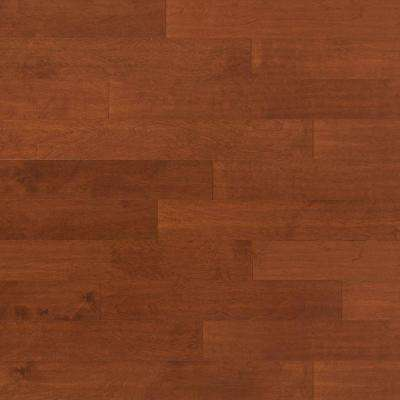 Take Home Sample - Scraped Birch Sunset Engineered Click Hardwood Flooring - 5 in. x 7 in.