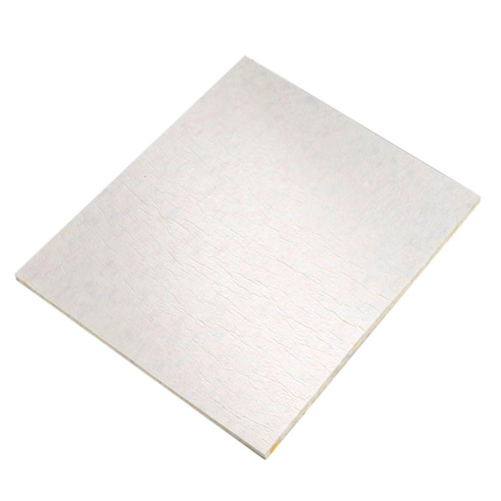 3/8 in. Thick 8 lb. Density Memory Foam with Moisture Barrier