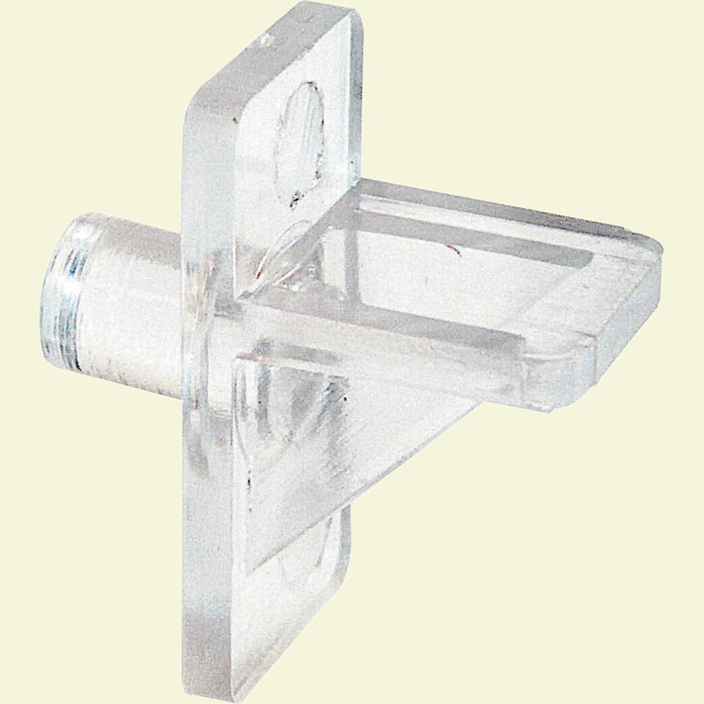 Clear Plastic Locking Shelf Support