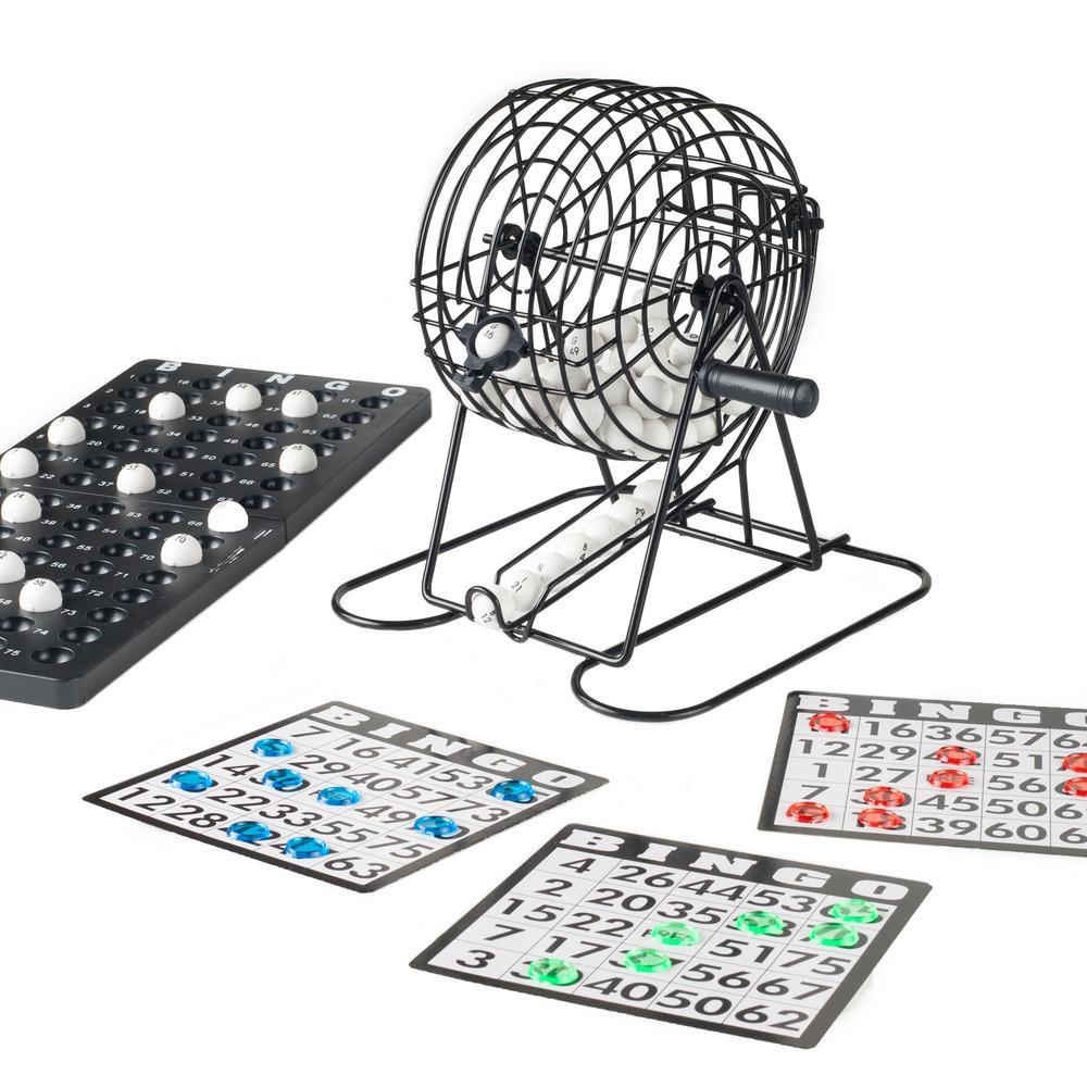 Bingo Game Set M350010 The Home Depot