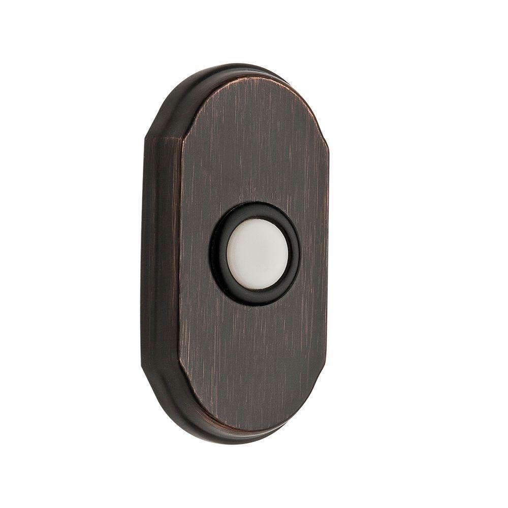 Baldwin Wired Arch Bell Button - Venetian Bronze