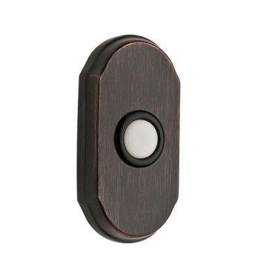 Wired Arch Bell Button - Venetian Bronze