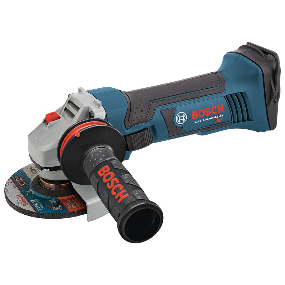18-Volt Lithium-Ion 5 in. Angle Grinder with Vibration Control Side Handle