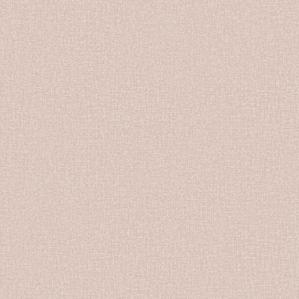 Rose Gold Linen Plain Wallpaper
