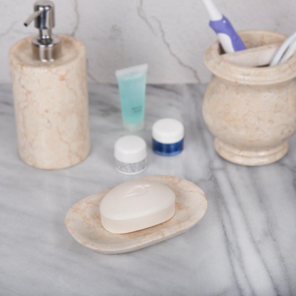 Creative Home 74175 Marble Soap Dish