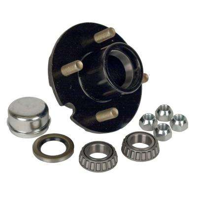 4-Bolt Hub Repair Kit for 1 in. Axle Pressed Stud for Trailers