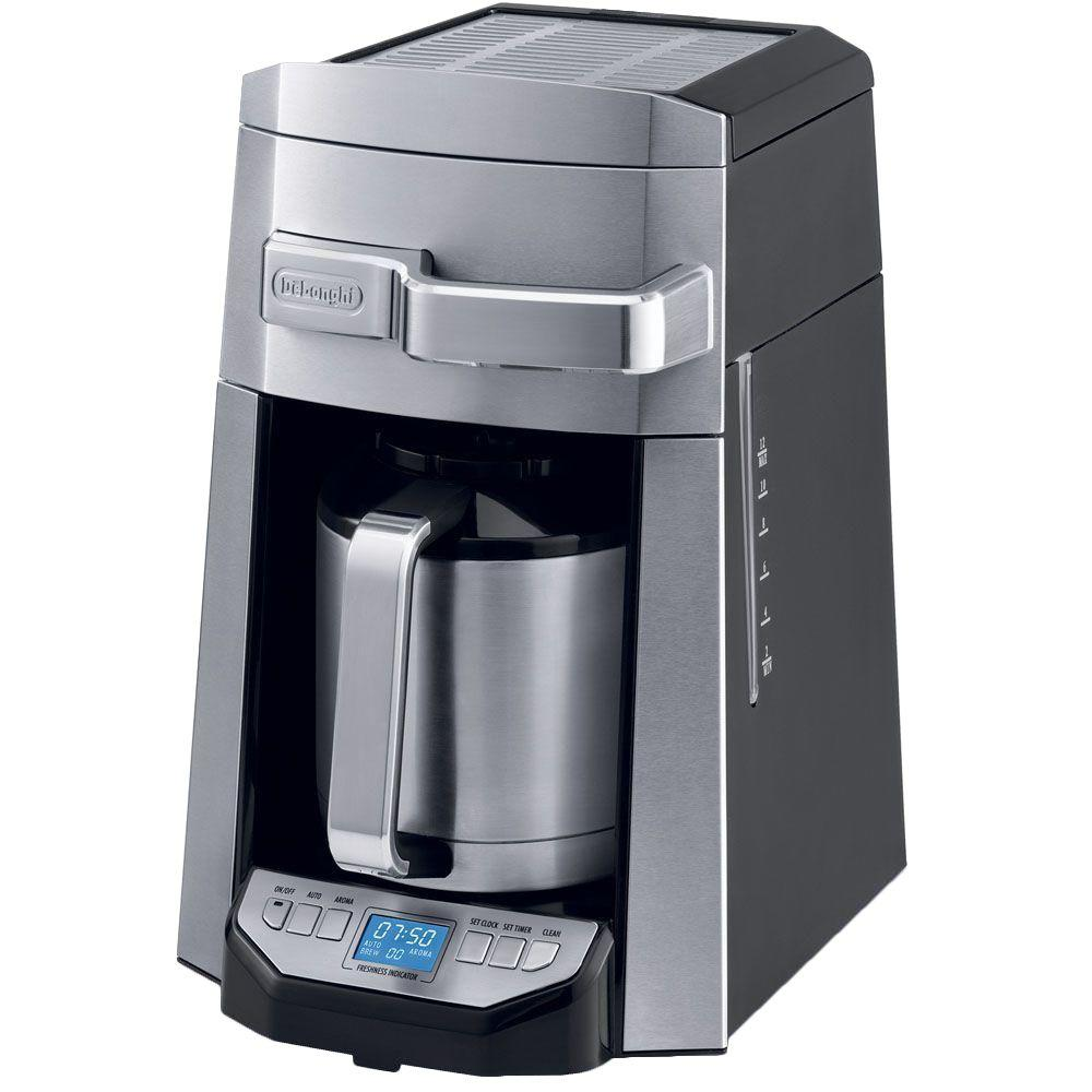 DeLonghi 12-Cup Drip Coffeemaker with Thermal Carafe