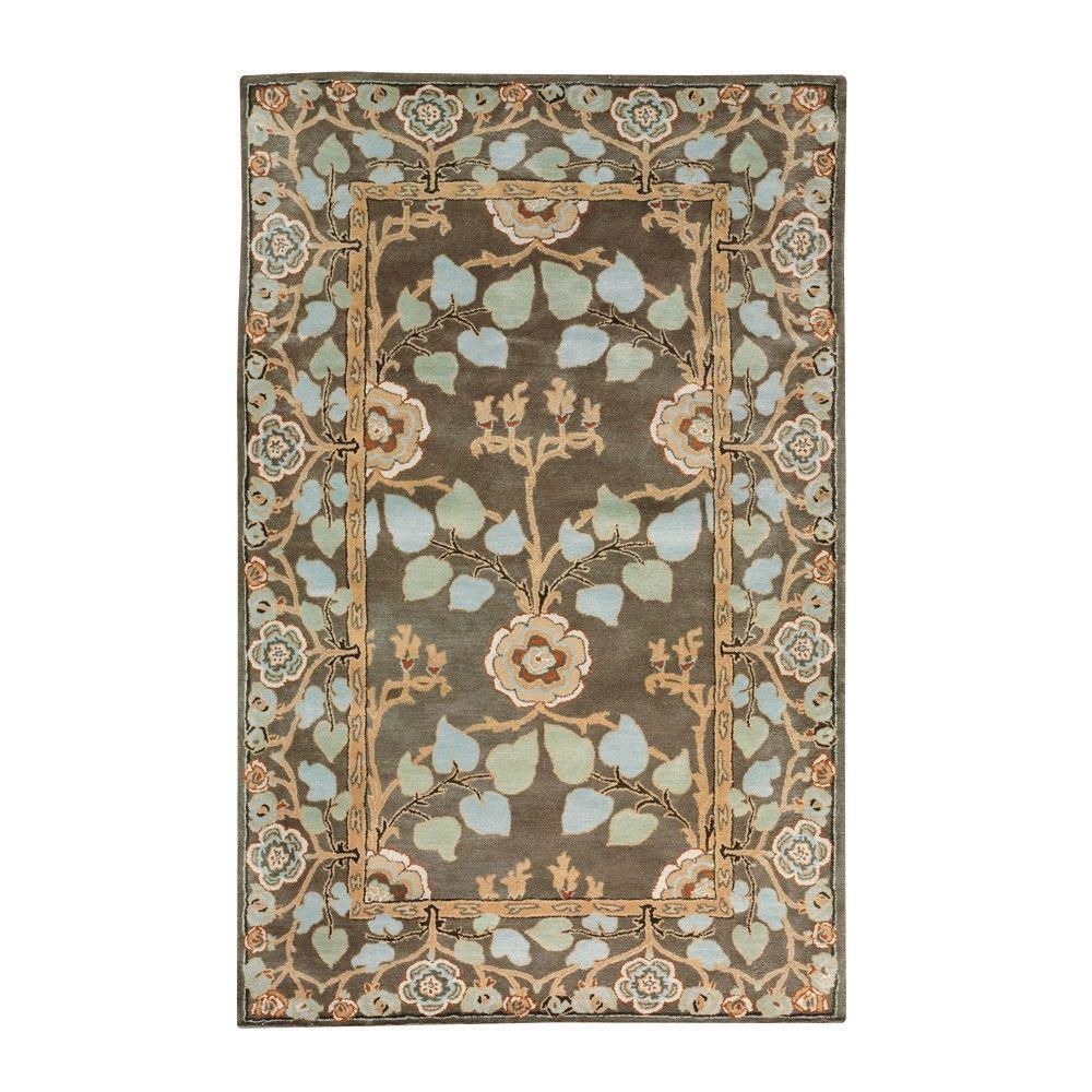 Home decorators collection patrician dark grey 8 ft x 11 for Decorators collection rugs