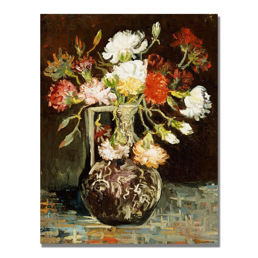 Trademark Fine Art 24 in. x 18 in. Bouquet of Flowers II Canvas Wall Art