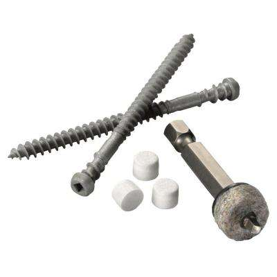 Cortex 75-Piece Fastener Set for AZEK Trim