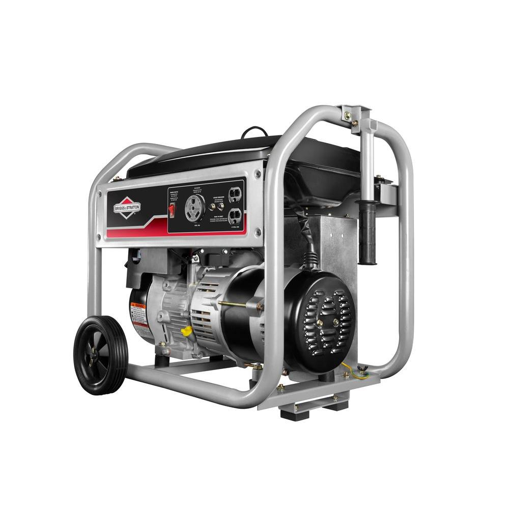 briggs stratton 3 500 watt gasoline powered portable generator rh homedepot com briggs & stratton portable generator repair manual briggs & stratton 6250 watt portable generator manual
