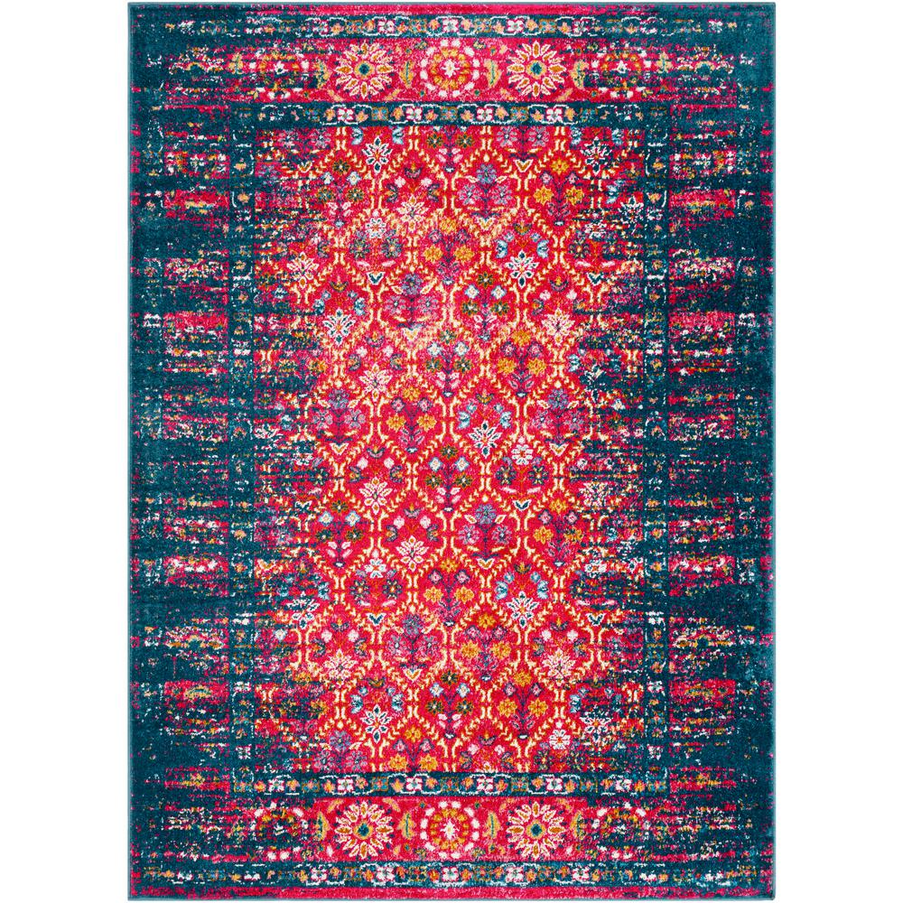 Artistic Weavers Zora Pink/Teal 5 Ft. 3 In. X 7 Ft. 3 In