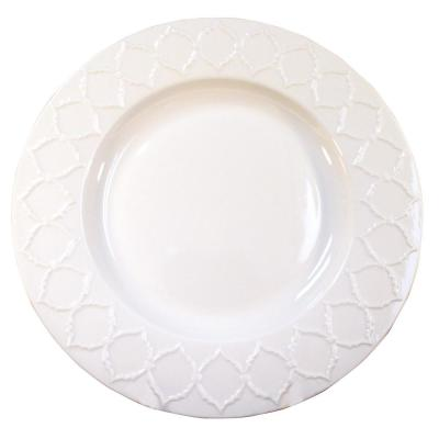 Lily White Salad Plate (Set of 4)