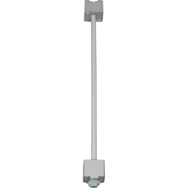 48 in. Silver Gray Extension Wand for VL 120-Volt 1-Circuit/1-Neutral 2-Circuit/1-Neutral Track Systems/Track Heads