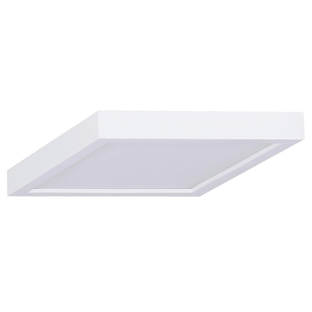 18-Watt White Integrated LED Flushmount