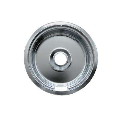 6 in. Small Drip Bowl in Chrome (1-Pack)