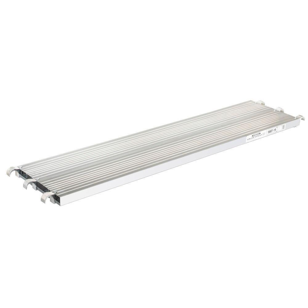 7 ft. Extruded Aluma-Board with 250 lb. Load Capacity