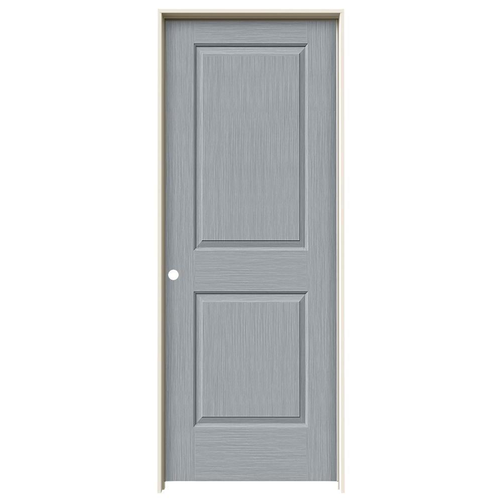 Cambridge Stone Stain Right-Hand  sc 1 st  The Home Depot & JELD-WEN 30 in. x 80 in. Cambridge Stone Stain Right-Hand Solid Core ...