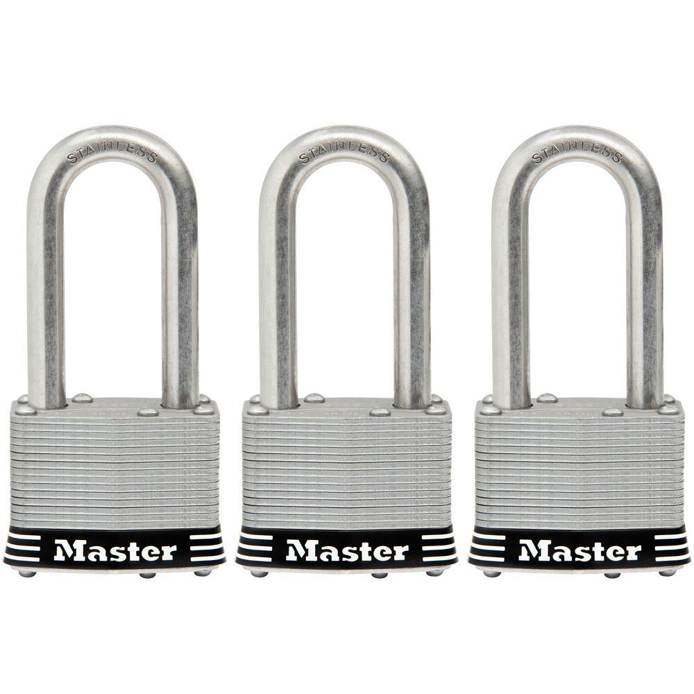 1-3/4 in. Laminated Stainless Steel Keyed Padlock with 2 in. Shackle