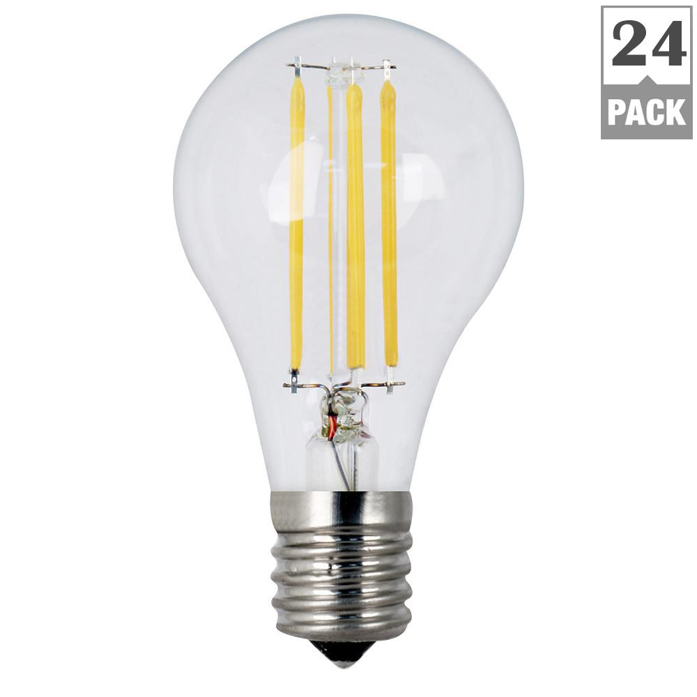 40W Equivalent Soft White (2700K) A15 Intermediate Dimmable Filament LED Clear