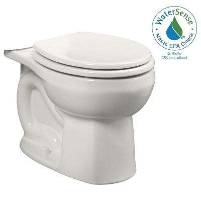 Colony Universal 1.28 or 1.6 GPF Round Front Toilet Bowl Only in White