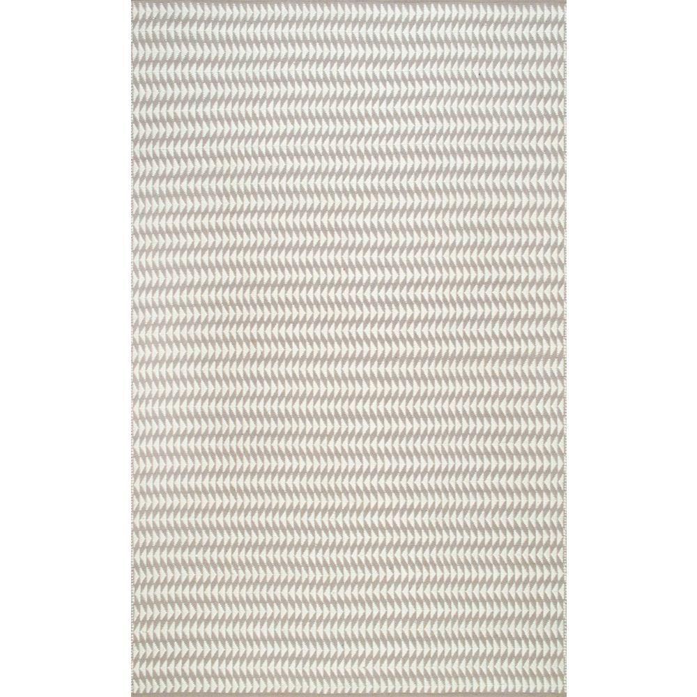 Yasmin Geometric Ivory 8 ft. x 10 ft. Indoor/Outdoor Area Rug