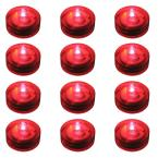 Red Submersible LED Lights (Box of 12)