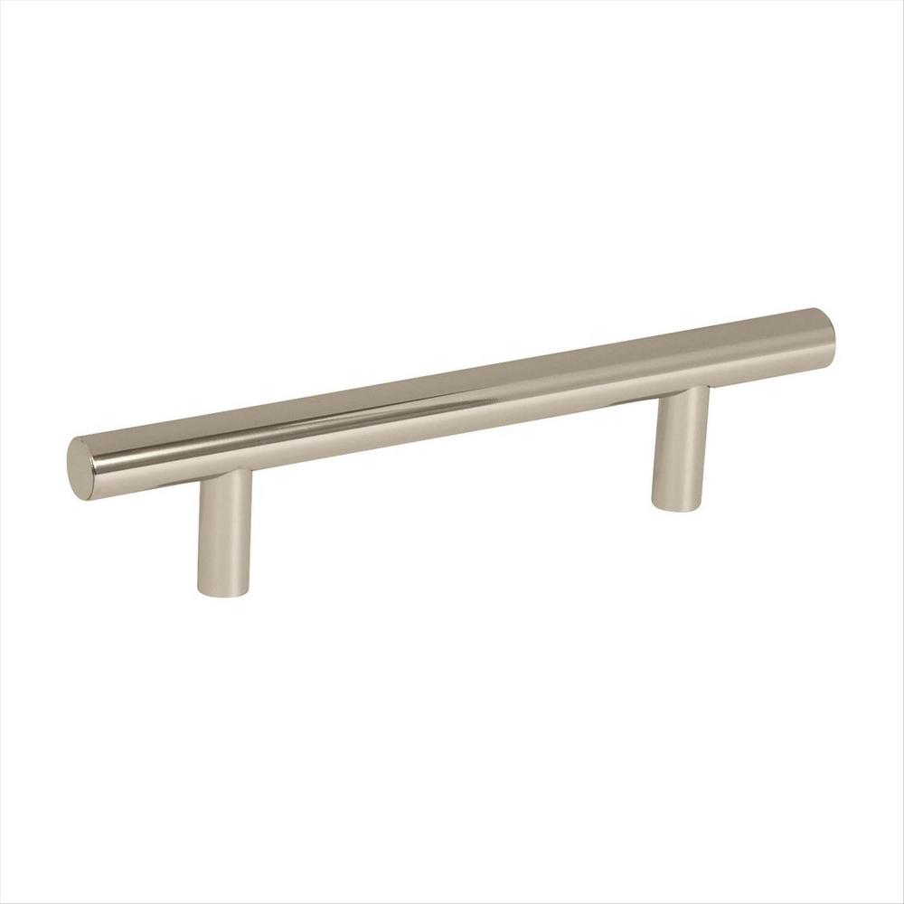 Bar Pulls 3-3/4 in. (96 mm) Center to Center Polished Nickel