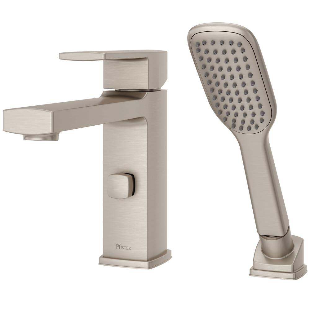 Pfister Deckard Single Handle Deck Mount Roman Tub Faucet With