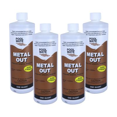 1 qt. Pool Metal Out Stain and Mineral Remover (4-Pack)