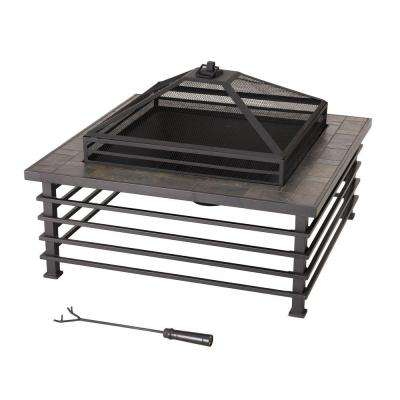 Dane 34 in. Steel Fire Pit