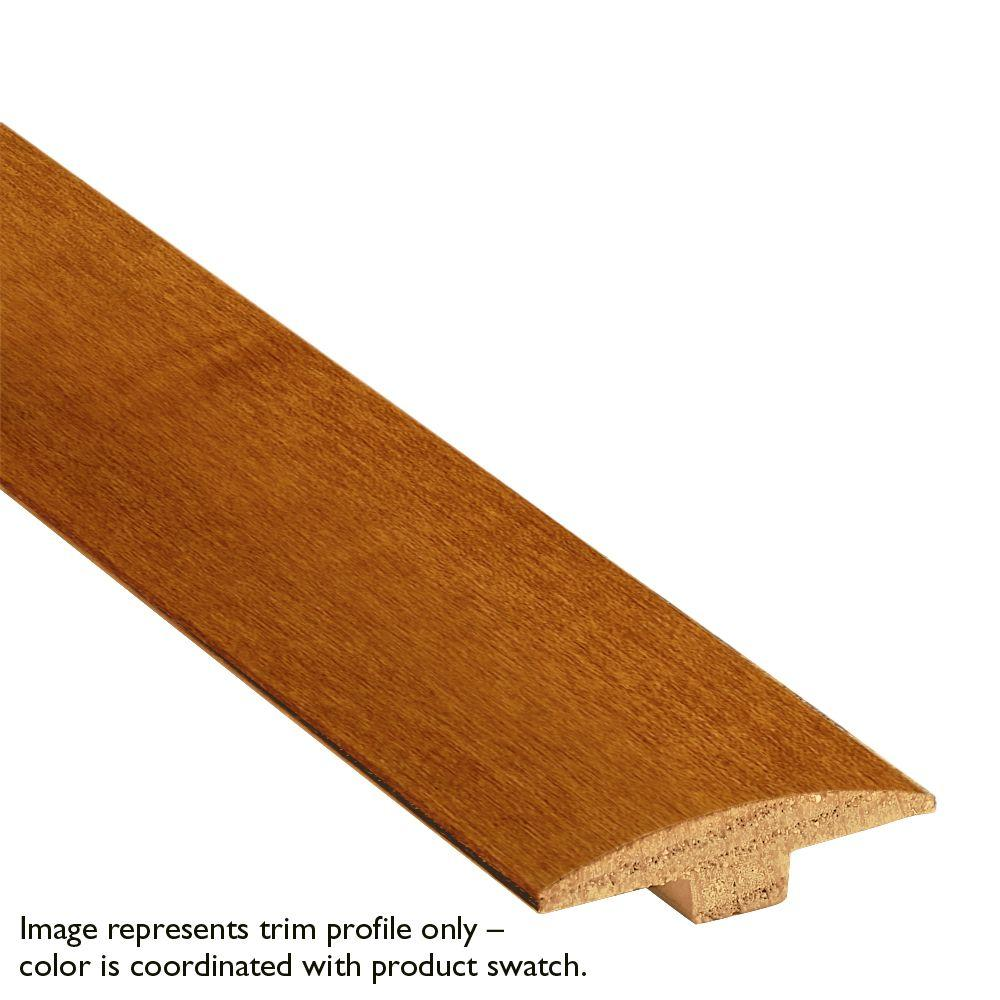 Bruce Brandy Wine Red Hickory 1/4 in. Thick x 2 in. Wide x 78 in. Long T-Molding