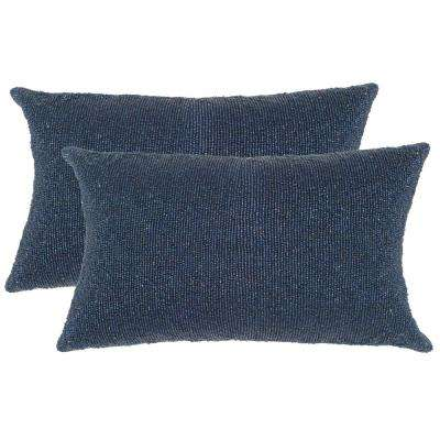 Essence Embellished Hand-Beaded Pillow (2-Pack)