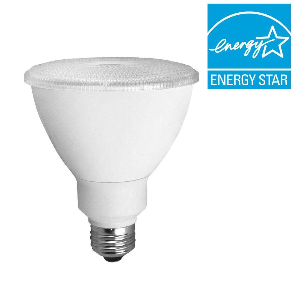 TCP 75W Equivalent Bright White (3000K) PAR30 Dimmable LED Flood Light Bulb (6-Pack)