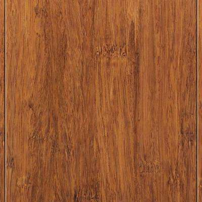 Strand Woven Harvest 9/16 in. Thick x 4-3/4 in. Wide x 36 in. Length Solid T&G Bamboo Flooring(19 sq. ft. / case)