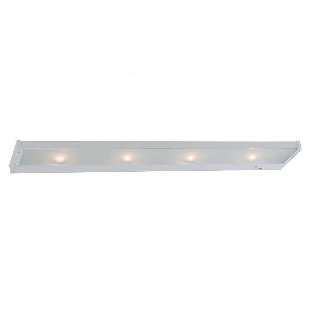 Sea Gull Lighting Ambiance 4 Light 120 Volt Self Contained White Xenon Task