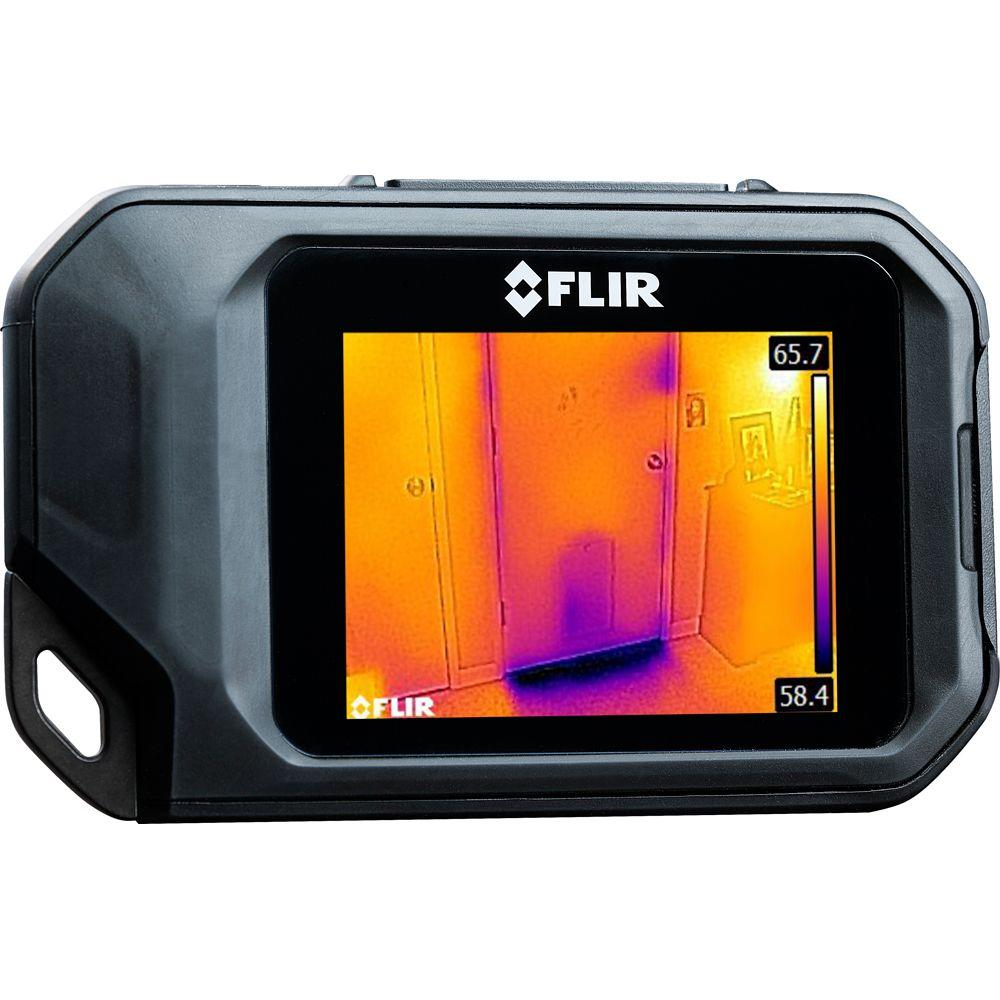 Flir compact thermal imaging system c2 the home depot for Thermal windows reviews