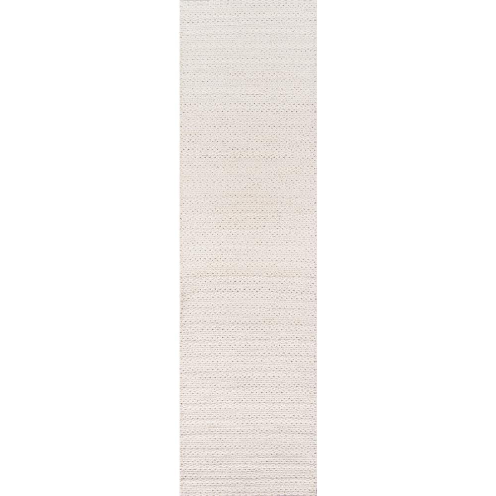 Andes Ivory 2 ft. 3 in. x 8 ft. Indoor Runner Rug