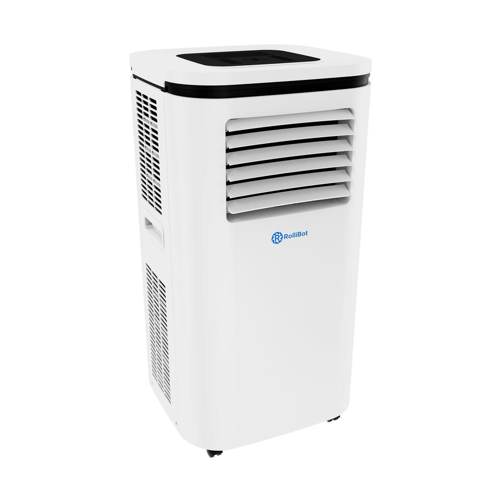Rollicool Smart Portable A C Dehumidifier With App 12 000 Btu 6 000 Btu Doe 600 Sq Ft Alexa Ready And Wi Fi Enabled White Cool 310 20 The Home Depot