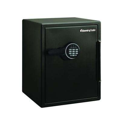 2.0 cu. ft. Steel Fire and Water Resistant Safe with Electronic Lock, Black