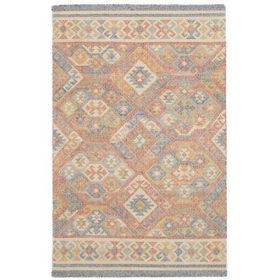 Kozak Red 5 ft. x 8 ft. Indoor Area Rug