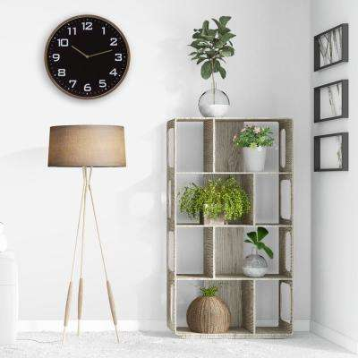 Essential Round Gold and Black Wall Clock