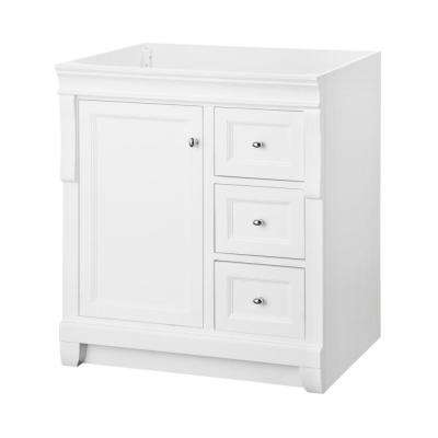 bathroom vanity without sink top. D Bath Vanity Cabinet in White Vanities without Tops  Bathroom The Home Depot