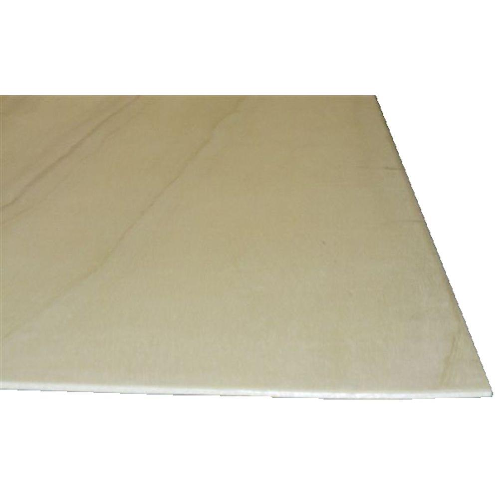 Sanded Plywood (Common: 5.2 mm x 2 ft. x 4 ft.; Actual: 0.205 in ...